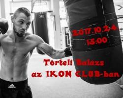 Beszélgetés Törteli Balázs box bajnokkal