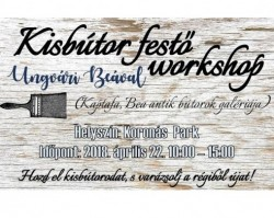 Kisbútor festő workshop