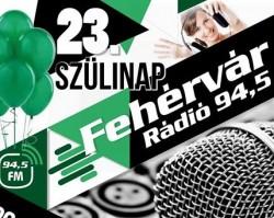 Fehérvár Rádió 23.születésnap