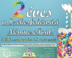 Székesfehérvári NépmesePont 2. születésnapja