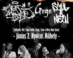 Két Tagú Falka 2.0 km. Gege, Soul A New, Non Sense #