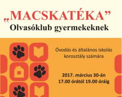 """""""Macskatéka"""" Olvasóklub"""