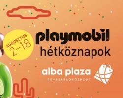 Playmobil kiállítás az Alba Plazában!