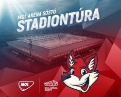 Stadiontúra a MOL Aréna Sóstóban