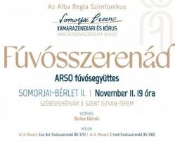 Somorjai Ferenc Kamara Hangversenysorozat - Fúvósszerenád