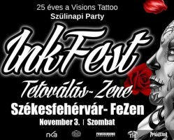 Visions Tattoo Szülinapi Party: Ink Fest