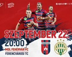 MOL Fehérvár FC - Ferencvárosi TC