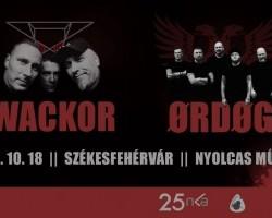 Ørdøg, Wackor