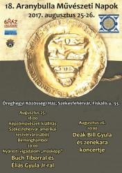 18. Aranybulla Művészeti Napok