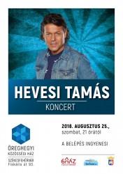 Hevesi Tamás koncert