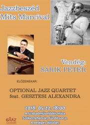 Jazzbeszéd Mits Marcival – vendég: Sárik Péter