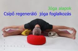 Csípő regeneráló jóga foglalkozás