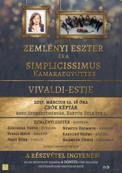 Zemlényi Eszter és a Simplicissimus Kamaraegyüttes Vivaldi-estje