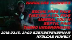 Social Free Face, Liberal Youth, Tisztán a cél felé, Tango Underground, Septic Pain