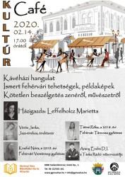 Kultúr Café - Kultúrházak éjjel-nappal programsorozat a Gárdonyi Géza Művelődési Házban