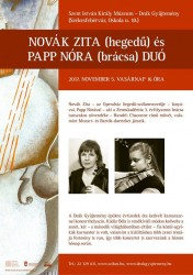 Novák Zita és Papp Nóra koncertje