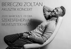 Bereczki Zoltán Akusztikus koncert