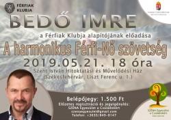 Bedő Imre - A harmonikus Férfi-Nő szövetség (előadás)