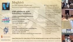 Az Élet Menete Alapítvány Holokauszt Vándorkiállítása