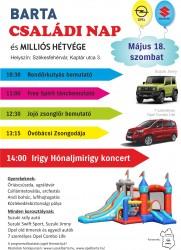 Családi nyíltnap és Opel találkozó