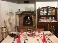 Szerelmes téli este a Szárcsa étteremben