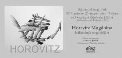 Horovitz Magdolna kiállítása