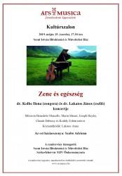 Kultúrszalon - Zene és egészség
