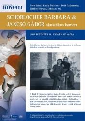 Schoblocher Barbara & Jancsó Gábor duó koncertje