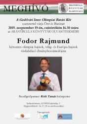 Fodor Rajmund az Aranybulla Könyvtárban