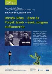 Dömök Réka és Polyák Jakab duókoncertje