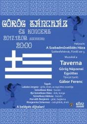 Taverna görög táncház