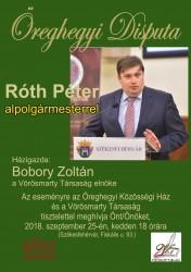 Disputa Róth Péterrel