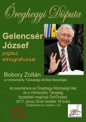 Disputa Gelencsér Józseffel