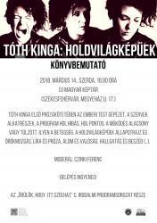 Tóth Kinga: Holdvilágképűek (könyvbemutató)