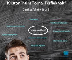 Kriston intim Torna Alaptanfolyam, Férfiaknak, 3 alkalmas