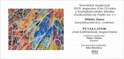 Miklós János: Fuvallatok - kiállítás