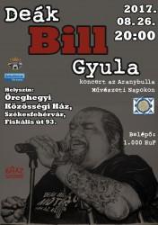 Deák Bill Gyula koncert