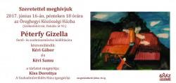 Péterfy Gizella kiállítása