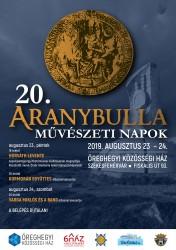 20. Aranybulla Művészeti Napok