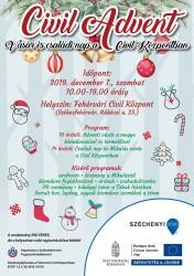 Civil Advent - vásár és családi nap a Fehérvári Civil Központban