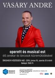 Vásáry André operett és musical est