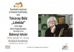 "Tolcsvay Béla ""Lélekdal"" című estje"