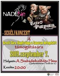 NADENe & Two Papas Band segélykoncert
