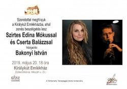 Zenés beszélgetés Szirtes Edina Mókussal és Cserta Balázzsal
