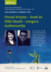 Pocsai Kriszta és Oláh Dezső duókoncertje