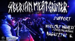 SIBERIAN MEAT GRINDER (RUS) + support # Nyolcas Műhely