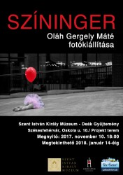 Színinger. Oláh Gergely Máté fotókiállítása