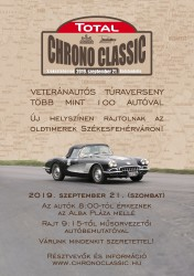 Total Chrono Classic oldtimer autós túra