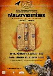 Tárlatvezetések a Hunyadi Mátyás halotti pajzsa című kiállításban
