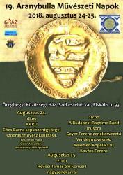 19. Aranybulla Művészeti Napok